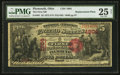 National Bank Notes:Ohio, Plymouth, OH - $5 1875 Fr. 401 The First NB Ch. # 1904. ...