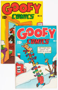 Golden Age (1938-1955):Funny Animal, Goofy Comics #17 and 18 Group (Nedor Publications, 1946).Condition: Average VF/NM.... (Total: 2 Comic Books)