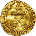 Italy:Papal States, Italy: Papal States. Nicholas V (1447-55) gold Ducat ND,...