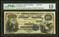 Charlotte, NC - $10 1882 Date Back Fr. 542 The Charlotte NB Ch. # (S)5055