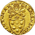Italy:Papal States, Italy: Papal States. Clement VII gold Fiorino di Camera ND(1523-34),...