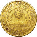 Chile, Chile: Republic gold 4 Escudos 1824-I,...