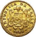 Chile, Chile: Republic gold Escudo 1838-IJ,...