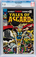 Silver Age (1956-1969):Superhero, Tales of Asgard #1 (Marvel, 1968) CGC NM/MT 9.8 White pages....
