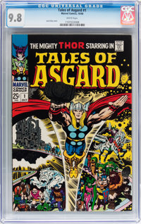 Tales of Asgard #1 (Marvel, 1968) CGC NM/MT 9.8 White pages