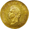 German States:Bavaria, German States: Bavaria - Wurzburg. Ludwig I Goldgulden ND(1827-35),...