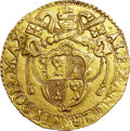 Italy:Papal States, Italy: Papal States. Alessandro VII gold 4 Scudi d'oro 1656,...
