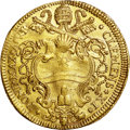 Italy:Papal States, Italy: Papal States. Clemente XI gold 4 Scudi d'oro (Quadrupla)1706,...