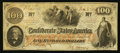 Confederate Notes:1862 Issues, T41 $100 1862 PF-18 Cr. 322.. ...