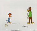 """Animation Art:Production Cel, """"Flim Flam Fountain"""" Animation Production Cel and Drawing Original Art, Group of 4 (Walter Lantz Productions, 1970). Two ori... (Total: 5 Items)"""