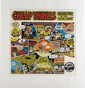 Original Comic Art:Miscellaneous, Robert Crumb - Cheap Thrills Serigraph Print Artist's Proof, 15/40(Wildwood Serigraphs, 1997). This iconic image helped to ...