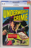 Golden Age (1938-1955):Crime, Underworld Crime #6 Crowley Copy pedigree (Fawcett, 1953) CGC VF 8.0 Off-white pages. Currently, one of only two copies on t...