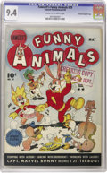 Golden Age (1938-1955):Funny Animal, Fawcett's Funny Animals #29 Crowley Copy pedigree (Fawcett, 1945)CGC NM 9.4 Cream to off-white pages. Checking Copy stamp o...
