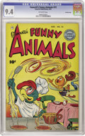 Golden Age (1938-1955):Funny Animal, Fawcett's Funny Animals #72 Crowley Copy pedigree (Fawcett, 1951)CGC NM 9.4 Off-white pages. Overstreet 2006 NM- 9.2 value ...