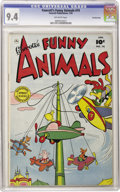 Golden Age (1938-1955):Funny Animal, Fawcett's Funny Animals #74 Crowley Copy pedigree (Fawcett, 1952)CGC NM 9.4 Off-white pages. Overstreet 2006 NM- 9.2 value ...