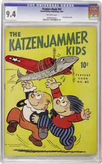 Feature Books #41 Katzenjammer Kids (David McKay, 1944) CGC NM 9.4 Off-white pages. Overstreet 2006 NM- 9.2 value = $200...