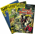 Golden Age (1938-1955):Classics Illustrated, Classics Illustrated #41-46 and #48-50 Original Editions Group(Gilberton, 1947-48) Condition: Average VF. Included here are...(Total: 9 Comic Books)