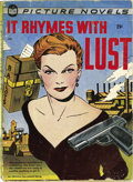 """Golden Age (1938-1955):Romance, It Rhymes With Lust #nn (St. John, 1950) Condition: VG. """"Impossible to find"""" is a term every collector has heard a lot, but ..."""