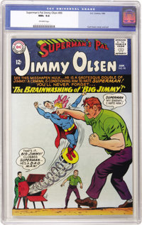 Superman's Pal Jimmy Olsen #90 (DC, 1966) CGC NM+ 9.6 Off-white pages. Curt Swan cover and art. Overstreet 2006 NM- 9.2...