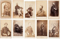 Photography:CDVs, Lot of Ten Cartes de Visite of Noted Civil War Union Navy Officers.... (Total: 10 Items)