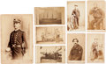 Photography:CDVs, Civil War Naval Lot of Eight Naval Images.... (Total: 8 Items)