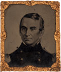 "Militaria:Uniforms, Major General Robert Anderson ""The Hero of Fort Sumter"" 1/16th Plate Tintype...."