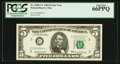 Low Serial Number C00000643* Fr. 1969-C* $5 1969 Federal Reserve Note. PCGS Gem New 66PPQ