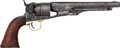 Handguns:Single Action Revolver, Superb Military Issue Colt 1860 Percussion Revolver Complete WithColt Factory Letter....