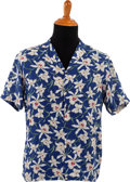 Music Memorabilia:Costumes, Stevie Ray Vaughan Hawaiian Shirt (c. 1980s)....