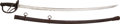 Military & Patriotic:WWI, US M1906 Iron Hilted Cavalry Saber. ...