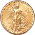 Saint-Gaudens Double Eagles, 1927-S $20 -- Cleaning -- PCGS Genuine. AU Details....