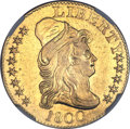 Early Half Eagles, 1800 $5 -- Improperly Cleaned -- NGC Details. AU. BD-5, High R.3....