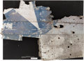 Military & Patriotic:WWII, Fragment of Destroyed Douglas SBD Dauntless Dive Bomber, Circa 1942....