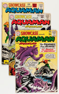 Silver Age (1956-1969):Miscellaneous, Showcase #30-32 Aquaman Group (DC, 1961).... (Total: 3 Comic Books)