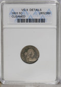 Early Half Dimes: , 1803 H10C Small 8 VG8 ANACS. V-3, LM-1, R.6. Although the 1802 halfdime gets all the glory, the 1803 Small 8 is also a for...