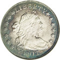 Early Dimes: , 1803 10C --Corroded--ANACS. XF45 Details. JR-4, R.5. Readilydistinguishable by the 3 in the date tilting right and numerous...