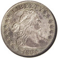 Early Dimes: , 1804 10C 13 Stars on Reverse--Whizzed--ANACS. VF30 Details. JR-1,R.5. Only 8,265 dimes were coined bearing the date 1804, ...