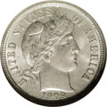 Barber Dimes: , 1909-D 10C MS65 NGC. With so many scarce and rare Barber coins tokeep track, this '09-D is often overlooked. This is a sca...