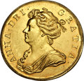 Great Britain, Great Britain: Anne gold 5 Guineas 1706,...