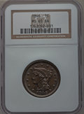 Large Cents, 1846 1C Small Date MS65 Brown NGC. N-8, R.1....