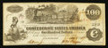 Confederate Notes:1862 Issues, Low Serial Number 22 T39 $100 1862 PF-1 Cr. 289.. ...
