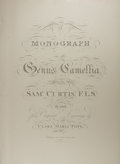 Books:Natural History Books & Prints, Samuel Curtis. Modern Facsimile of A Monograph of the Genus Camellia. Originally published by J. & A...
