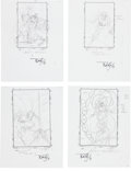 Original Comic Art:Miscellaneous, Tom Lyle Warlock Cover Preliminary Original Art Group(Marvel, c. 1998).... (Total: 10 Items)