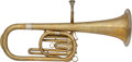 Military & Patriotic:Civil War, Civil War Rotary Valve Eb Alto Sax Horn...