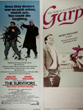 Miscellaneous:Movie Posters, [Movie Posters]. [Robin Williams, Walter Matthau, and others]. The Survivors and The World According to Garp...