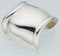 Luxury Accessories:Accessories, Elsa Peretti for Tiffany & Co. Sterling Silver Bone CuffBracelet. ...