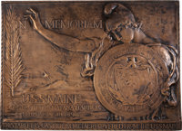 Battleship U.S.S. Maine Bronze Relic Plaque