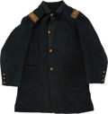 Military & Patriotic:Civil War, Very Scarce and Desirable Civil War US Artillery Officer's Four Button Fatigue Blouse...