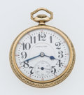 Timepieces:Pocket (post 1900), Hamilton 19 Jewel Series 996 Open Face Pocket Watch. ...