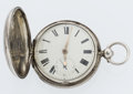 Timepieces:Pocket (pre 1900) , Rare Geo. Findley London Hunter's Case Verge Fusee. ...